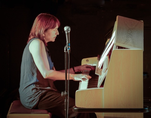 Kate Williams performing at Fleet Jazz Club