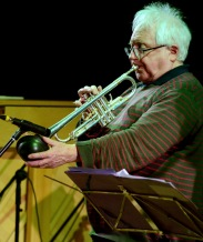 Henry Lowther performing at Fleet Jazz Club.