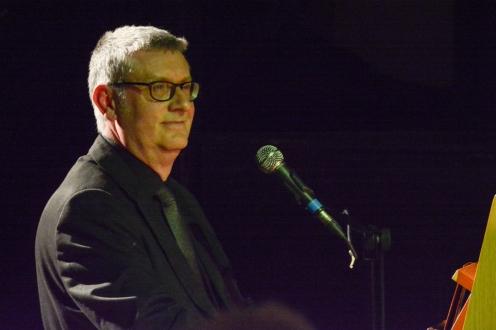 Chris Ingham performing at Fleet Jazz Club.