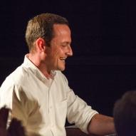 Ross Stanley performing at Fleet Jazz Club.