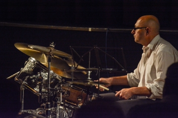Eric Ford m performing at Fleet Jazz (Nov 16). Image courtesy of David Fisher (Aldershot, Farnham & Fleet Camera Club).