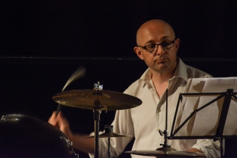 Eric Ford performing at Fleet Jazz (Nov 16). Image courtesy of David Fisher (Aldershot, Farnham &amp & Fleet Camera Club).