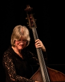 Marianne Windham performing at Fleet Jazz (Nov 16). Image courtesy of Michael Carrington (Aldershot, Farnham & Fleet Camera Club).