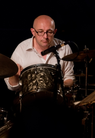 Eric Ford performing at Fleet Jazz (Nov 16). Image courtesy of Michael Carrington (Aldershot, Farnham & Fleet Camera Club).