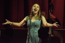 Joanna Eden at Fleet Jazz Club on the 17th Jan 2017.