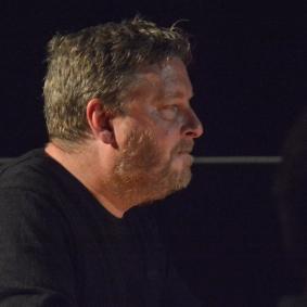Mark Edwards at Fleet Jazz on the 21st February 2017. Photograph courtesy of David Fisher (Aldershot, Farnham & Fleet Camera Club).