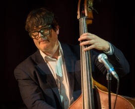 Andrew Cleyndert performing at Fleet Jazz. Photograph courtesy of Pat Gibson (Aldershot, Farnham & Fleet Camera Club).