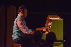 Gareth Williams at Fleet Jazz on 21st February 2017. Photograph courtesy of David Fisher (Aldershot, Farnham & Fleet Camera Club)