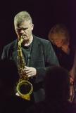 Iain Ballamy at Fleet Jazz on 21st February 2017. Photograph courtesy of David Fisher (Aldershot, Farnham & Fleet Camera Club)