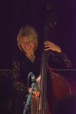 Marianne Windham at Fleet Jazz on 21st March 2017. Photograph courtesy of David Fisher (Aldershot, Farnham & Fleet Camera Club)
