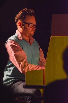 Gareth Williams at Fleet Jazz on 21st March 2017. Photograph courtesy of David Fisher (Aldershot, Farnham & Fleet Camera Club)