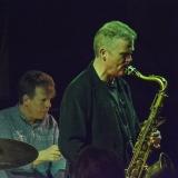 Iain Ballamy at Fleet Jazz on 21st March 2017. Photograph courtesy of David Fisher (Aldershot, Farnham & Fleet Camera Club)