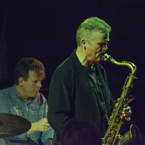 Iain Ballamy at Fleet Jazz on 21st March 2017. Photograph courtesy of David Fisher (Aldershot, Farnham & Fleet Camera Club)