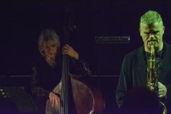 Iain Ballamy and Marianne Windham at Fleet Jazz on 21st March 2017. Photograph courtesy of David Fisher (Aldershot, Farnham & Fleet Camera Club)