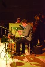 Martin France at Fleet Jazz on 21st March 2017. Photograph courtesy of David Fisher (Aldershot, Farnham & Fleet Camera Club)
