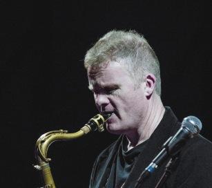 Iain Ballamy at Fleet Jazz on 21st March 2017. Photograph courtesy of Michael Carrington (Aldershot, Farnham & Fleet Camera Club)