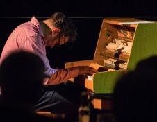 Gareth Williams at Fleet Jazz on 21st March 2017. Photograph courtesy of Michael Carrington (Aldershot, Farnham & Fleet Camera Club)