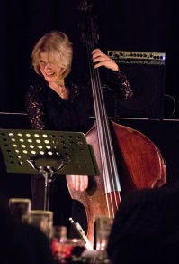Marianne Windham at Fleet Jazz on 21st March 2017. Photograph courtesy of Michael Carrington (Aldershot, Farnham & Fleet Camera Club)