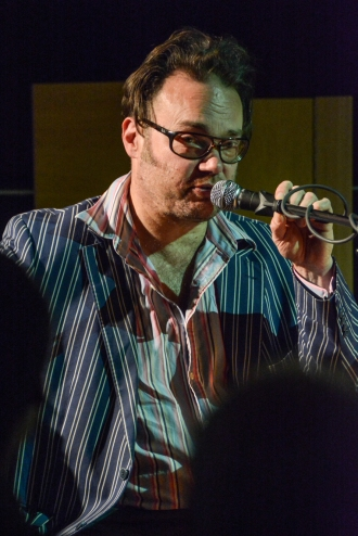 Gareth Williams performing at Fleet Jazz on 18th April 2017. Photograph courtesy of David Fisher (Aldershot, Farnham & Fleet Camera Club)