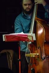 Calum Gourlay performing at Fleet Jazz on 18th April 2017. Photograph courtesy of David Fisher (Aldershot, Farnham & Fleet Camera Club)