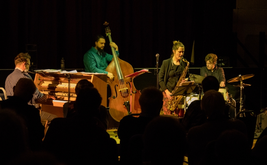 Glow Quartet at Fleet Jazz on 18th April 2017
