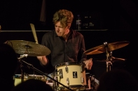 Martin France performing at Fleet Jazz on 18th April 2017.