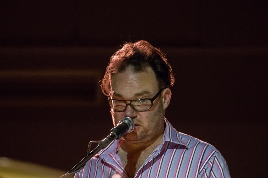Gareth Williams performing at Fleet Jazz on 18th April 2017.