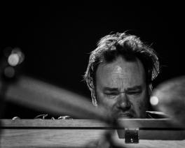 Gareth Williams performing at Fleet Jazz on 18th April 2017. Photograph courtesy of Michael Carrington (Aldershot, Farnham & Fleet Camera Club)