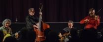 "Christian Garrick/Violin Dave Kelbie/Guitar in John Etheridge ""Sweet Chorus"" performing at Fleet Jazz Club on 17th October 2017. Photographs courtesy of David Fisher from the Aldershot, Farnham & Fleet Camera Club."