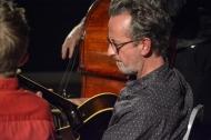 "John Etheridge ""Sweet Chorus"" performed at Fleet Jazz Club on 17th October 2017. John Etheridge – Guitar Christian Garrick - Violin Dave Kelbie- Guitar Andy Crowdy – Bass. Photographs courtesy of David Fisher from the Aldershot, Farnham & Fleet Camera Club."