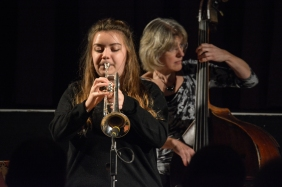 Alex Ridouts at Fleet Jazz Club on 15 Nov 2017. Photograph courtesy of Michael Carrington (Aldershot, Farnham and Fleet Camera Club)