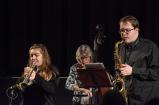 Tom and Alex Ridouts at Fleet Jazz Club on 15 Nov 2017. Photograph courtesy of Michael Carrington (Aldershot, Farnham and Fleet Camera Club)
