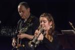 Mark and Alex Ridout at Fleet Jazz Club on 15 Nov 2017. Photograph courtesy of David Fisher (Aldershot, Farnham and Fleet Camera Club)