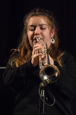Alex Ridout performing at Fleet Jazz Club. Photograph courtesy of David Fisher (Aldershot, Farnham and Fleet Camera Club)