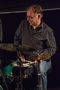 Tristan Mailliot performing with the Ridouts at Fleet Jazz Club on 15 Nov 2017. Photograph courtesy of David Fisher (Aldershot, Farnham and Fleet Camera Club)