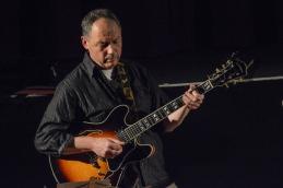 Mark Ridouts at Fleet Jazz Club on 15 Nov 2017. Photograph courtesy of Michael Carrington (Aldershot, Farnham and Fleet Camera Club)