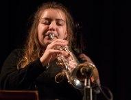 Alex Ridout at Fleet Jazz Club on 15 Nov 2017. Photograph courtesy of Michael Carrington (Aldershot, Farnham and Fleet Camera Club)