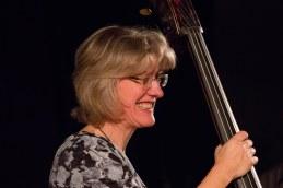 Marianne Windham performing with the Ridouts at Fleet Jazz Club on 15 Nov 2017. Photograph courtesy of Michael Carrington (Aldershot, Farnham and Fleet Camera Club)