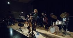 The Karen Sharp Quartet at Fleet Jazz Club. Photograph courtesy of Michael Carrington (Aldershot, Farnham & Fleet Camera Club). — at The Harlington, Fleet.