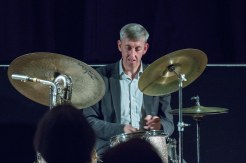 Steve Brown at Fleet Jazz Club. Photograph courtesy of Michael Carrington (Aldershot, Farnham & Fleet Camera Club). — at The Harlington, Fleet.