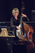Marianne Windham at Fleet Jazz Club courtesy of Michael Carrington (Aldershot, Farnham & Fleet Camera Club). — at The Harlington, Fleet.