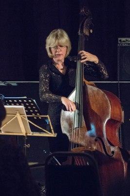 Marianne Windham at Fleet Jazz Club courtesy of Michael Carrington (Aldershot, Farnham & Fleet Camera Club). — at The Harlington, Fleet.