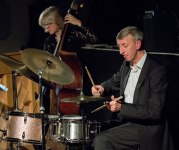 Steve Brown and Marianne Windham at Fleet Jazz Club courtesy of Michael Carrington (Aldershot, Farnham & Fleet Camera Club). — at The Harlington, Fleet.