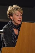 Nikki Iles performing with the Karen Sharp Quartet at Fleet Jazz Club. Photograph courtesy of David Fisher (Aldershot, Farnham & Fleet Camera Club).