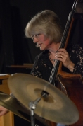Marianne Windham performing with the Karen Sharp Quartet at Fleet Jazz Club. Photograph courtesy of David Fisher (Aldershot, Farnham & Fleet Camera Club).