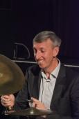Steve Brown performing with the Karen Sharp Quartet at Fleet Jazz Club. Photograph courtesy of David Fisher (Aldershot, Farnham & Fleet Camera Club).