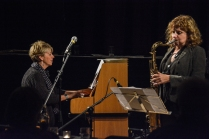 The Karen Sharp Quartet at Fleet Jazz Club. Photograph courtesy of David Fisher (Aldershot, Farnham & Fleet Camera Club).