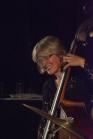 Marianne Windham performing with the Karen Sharp Quartet at Fleet Jazz Club. Photograph courtesy of David Fisher (Aldershot, Farnham & Fleet Camera Club).