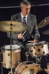 Steve Brown performing in The Scott Hamilton Quartet at Fleet Jazz Club on 16th January 2018. Photograph courtesy of David Fisher from the Aldershot, Farnham & Fleet Camera Club