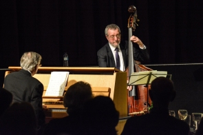 The Scott Hamilton Quartet performing at Fleet Jazz Club on 16th January 2018. Photograph courtesy of David Fisher from the Aldershot, Farnham & Fleet Camera Club